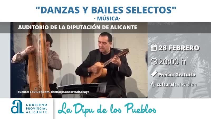 DANZAS Y BAILES SELECTOS