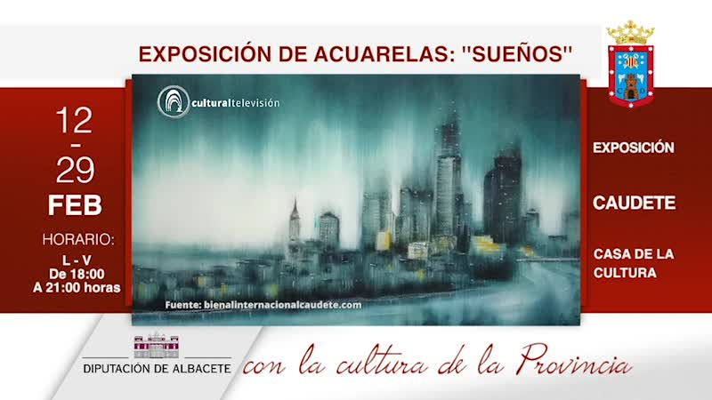 EXPOSICIÓN DE ACUARELAS: ''SUEÑOS''