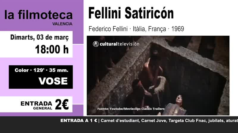 FELLINI SATIRICÓN