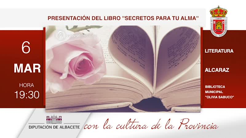 PRESENTACIÓN DEL LIBRO ''SECRETOS PARA TU ALMA''