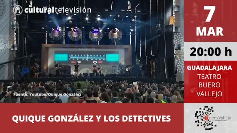 QUIQUE GONZÁLEZ Y LOS DETECTIVES