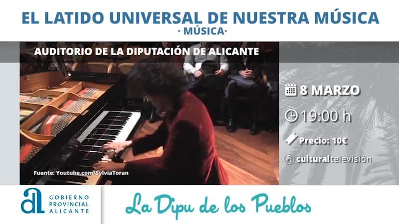 """""""EL LATIDO UNIVERSAL DE NUESTRA MÚSICA"""" SYLVIA TORÁN"""