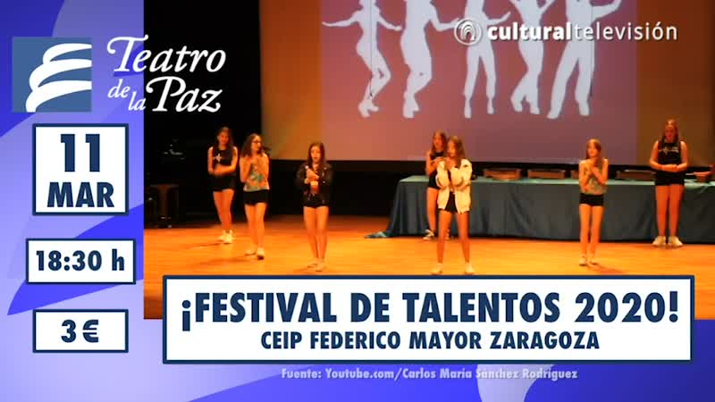 ¡FESTIVAL DE TALENTOS 2020!