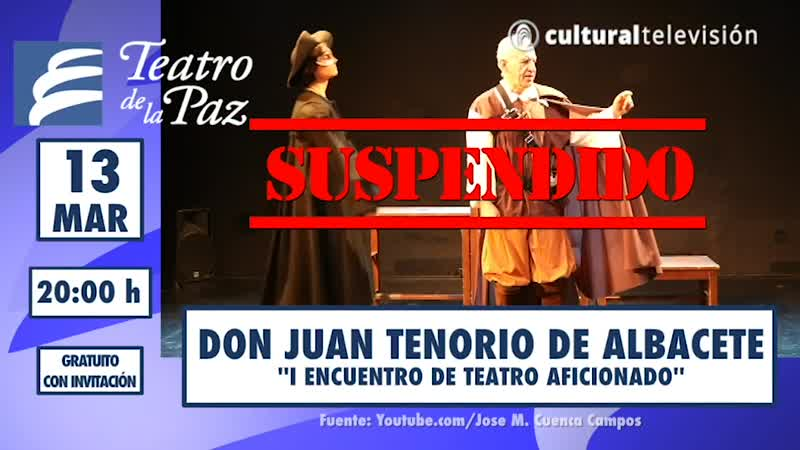DON JUAN TENORIO DE ALBACETE