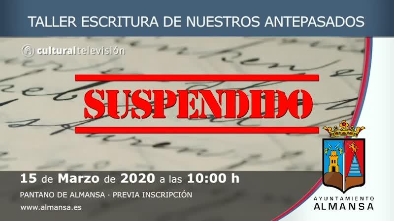 TALLER ESCRITURA DE NUESTROS ANTEPASADOS