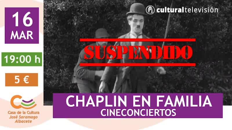 CHAPLIN EN FAMILIA