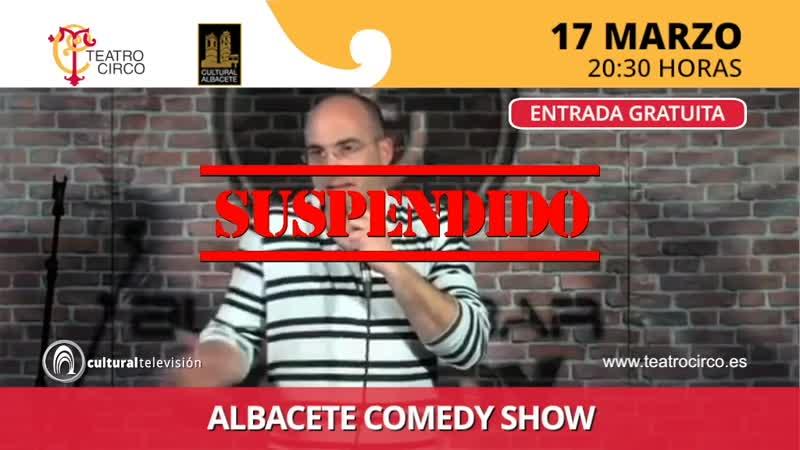 """ALBACETE COMEDY SHOW"" David Andrés, Rubén Faura, Marceluxe y Juananhel"
