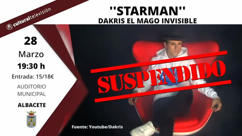 ''STARMAN'' DAKRIS EL MAGO INVISIBLE