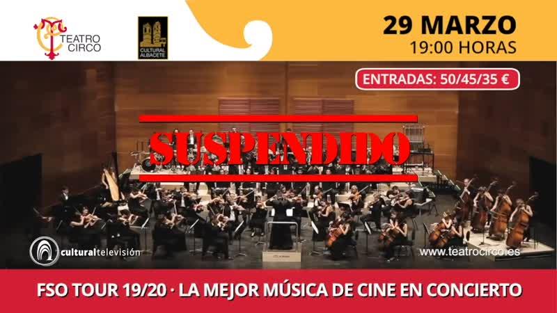 FSO TOUR 19/20 | LA MEJOR MÚSICA DE CINE EN CONCIERTO