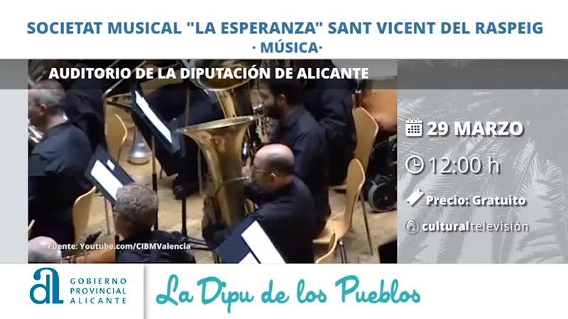 """SOCIETAT MUSICAL """"LA ESPERANZA"""" SANT VICENT DEL RASPEIG"""