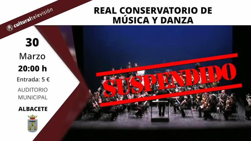 REAL CONSERVATORIO DE MÚSICA Y DANZA | CONCIERTO BENÉFICO