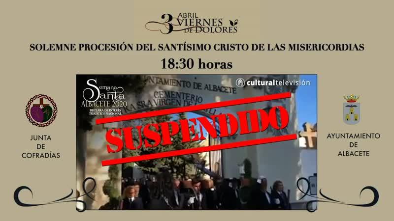 SOLEMNE PROCESIÓN DEL SANTÍSIMO CRISTO DE LAS MISERICORDIAS