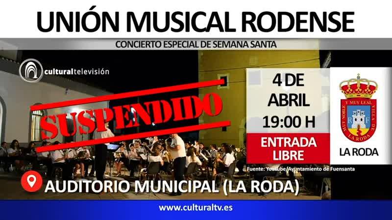 UNIÓN MUSICAL RODENSE | CONCIERTO ESPECIAL DE SEMANA SANTA