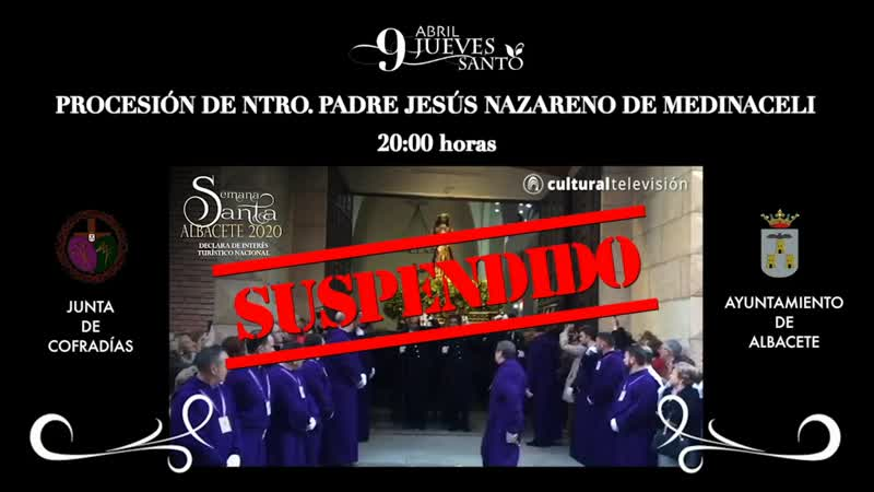 PROCESIÓN DE NTRO. PADRE JESÚS NAZARENO DE MEDINACELI