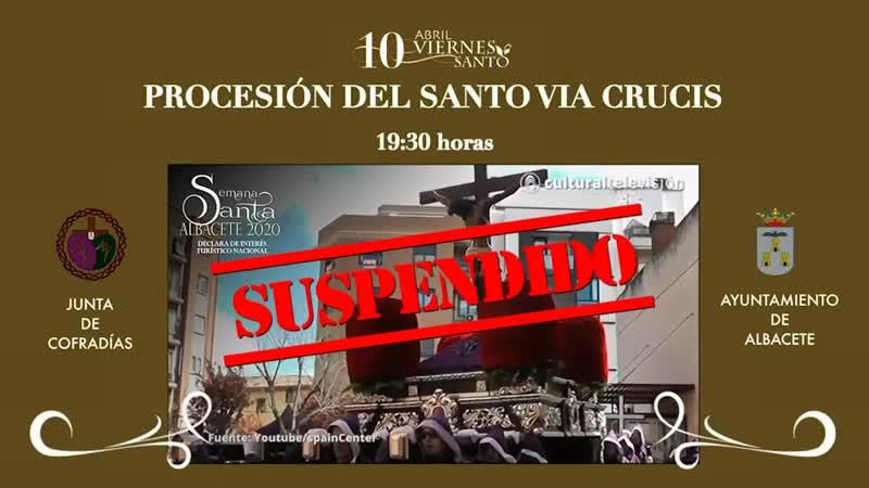 PROCESIÓN DEL SANTO VIA CRUCIS