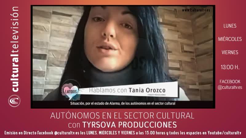 LATIDOS, Autónomos en el sector Cultural con Tyrsova Producciones