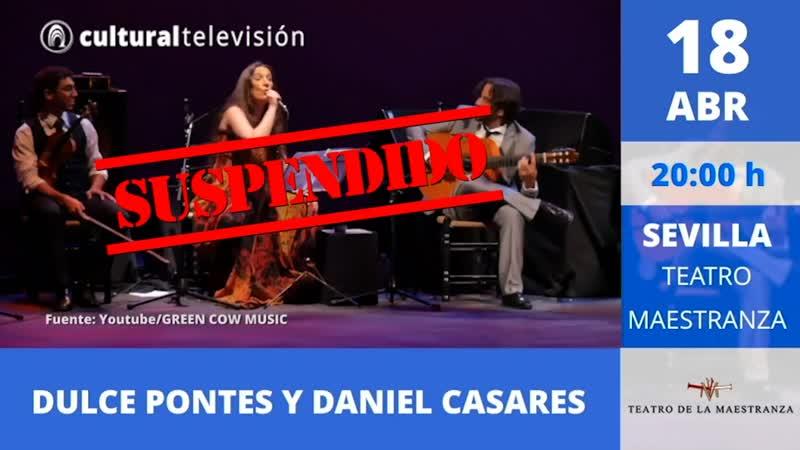 DULCE PONTES Y DANIEL CASARES
