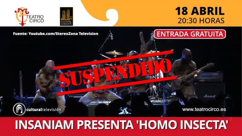 INSANIAM PRESENTA 'HOMO INSECTA'