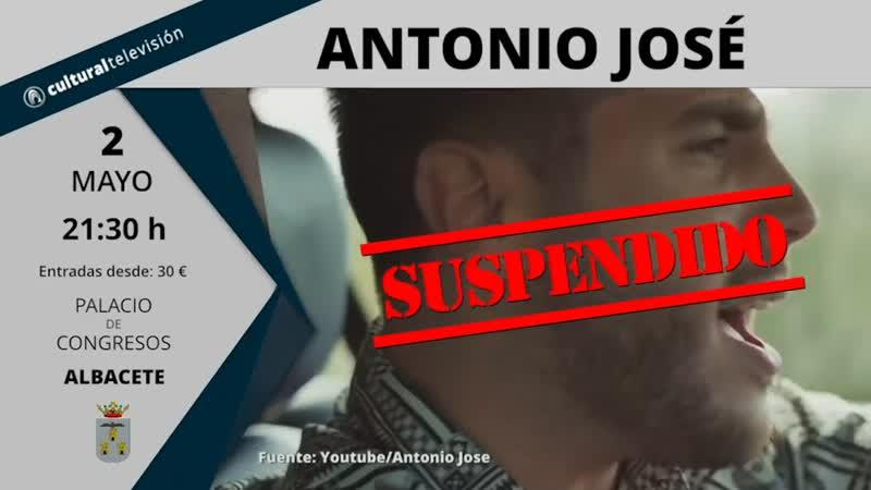 ANTONIO JOSÉ | ANTÍDOTO TOUR