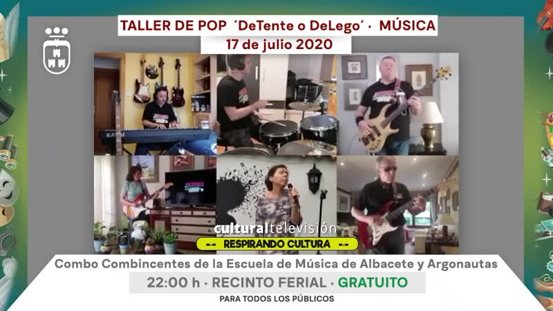 TALLER DE POP 'DeTente O DeLego'