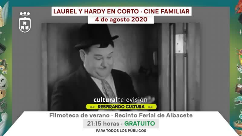 LAUREL Y HARDY EN CORTO