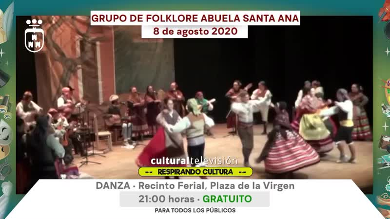 GRUPO DE FOLKLORE ABUELA DE SANTA ANA