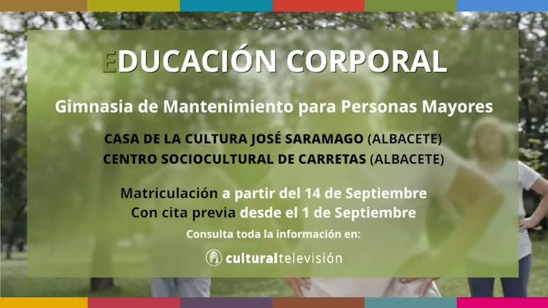 CURSOS DE LARGA DURACIÓN: ''EDUCACIÓN CORPORAL''