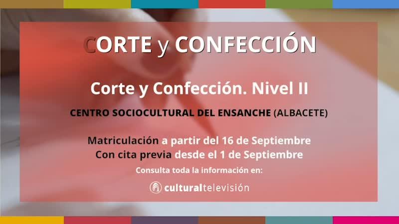 CURSOS DE LARGA DURACIÓN: ''CORTE Y CONFECCIÓN''