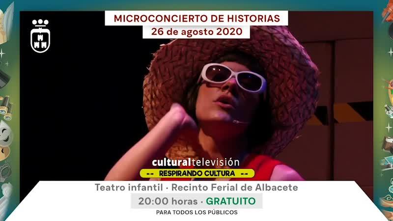 MICROCONCIERTO DE HISTORIAS · LA CHICA CHARCOS