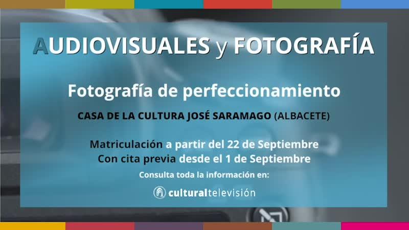 CURSOS DE LARGA DURACIÓN: '' AUDIOVISUALES Y FOTOGRAFÍA''