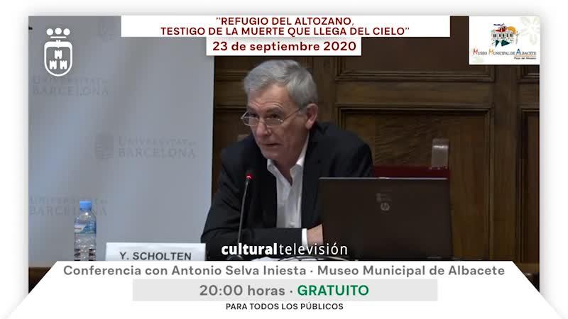 ''REFUGIO DEL ALTOZANO, TESTIGO DE LA MUERTE QUE LLEGA DEL CIELO'' · CONFERENCIAS