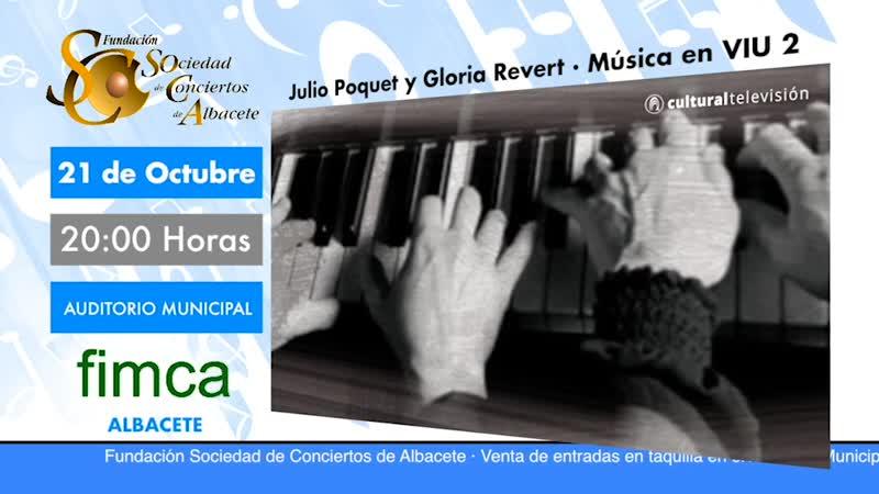 JULIO POQUET & GLORIA REVERT · MÚSICA EN VIU 2