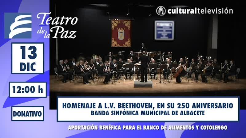 CONCIERTO HOMENAJE A L.V. BEETHOVEN, EN SU 250 ANIVERSARIO