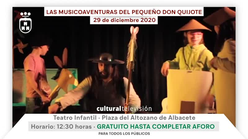 LAS MUSICOAVENTURAS DEL PEQUEÑO DON QUIJOTE