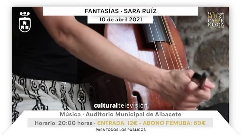 FANTASÍAS · SARA RUÍZ