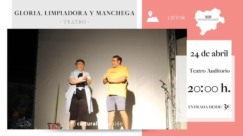 GLORIA, LIMPIADORA Y MANCHEGA