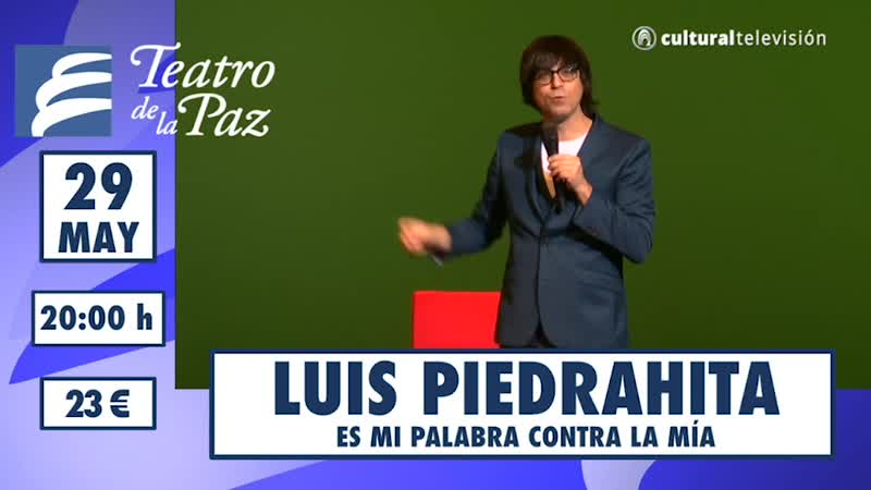LUIS PIEDRAHITA: ES MI PALABRA CONTRA LA MÍA