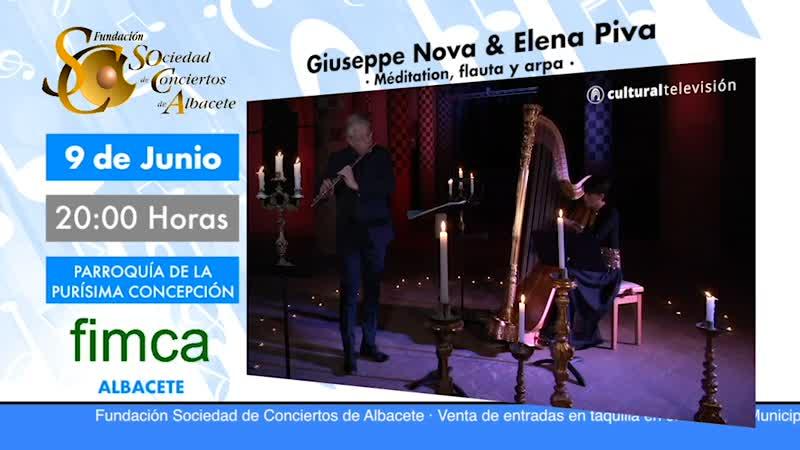 GIUSEPPE NOVA & ELENA PIVA · MEDITACIÓN, FLAUTA Y ARPA