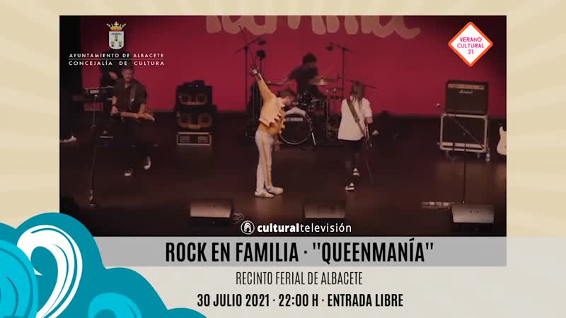 ROCK EN FAMILIA · ''QUEENMANÍA''