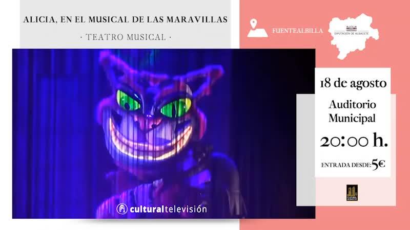 ALICIA, EN EL MUSICAL DE LAS MARAVILLAS
