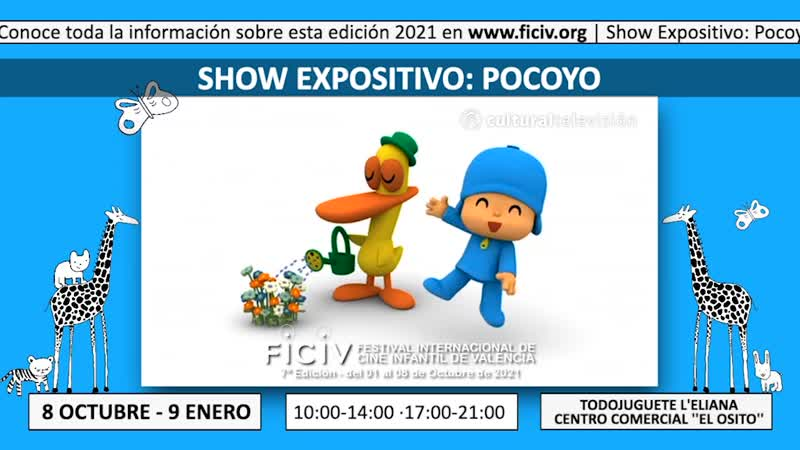 SHOW EXPOSITIVO: POCOYO