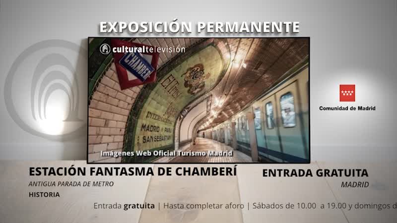 ESTACIÓN FANTASMA DE CHAMBERÍ | ANDÉN 0
