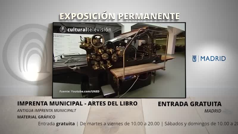 IMPRENTA MUNICIPAL - ARTES DEL LIBRO
